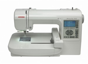 Janome MC200e embroidery machine