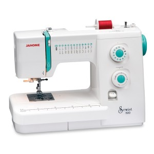 Janome 500 Front View