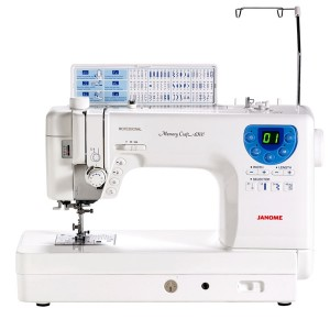 Janome 6300 Front View