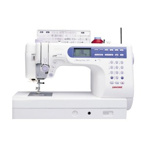 Janome 6500 Front View