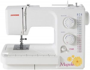 Janome 7318 Front View