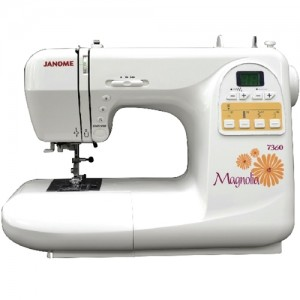 Janome 7360 FrontView