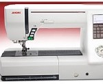 Janome 7700 11-_inch_x_4.7-_inch_Work_Area