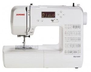 Janome DC1050 front view